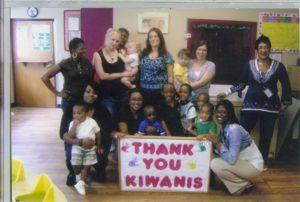 Kiwanis Club say thank you to Justin O'Dell