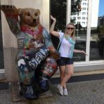 Abbey with bear Berlin
